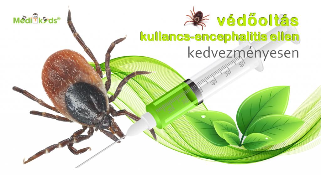 Kullancs-encephalitis elleni védőoltás kedvezményesen
