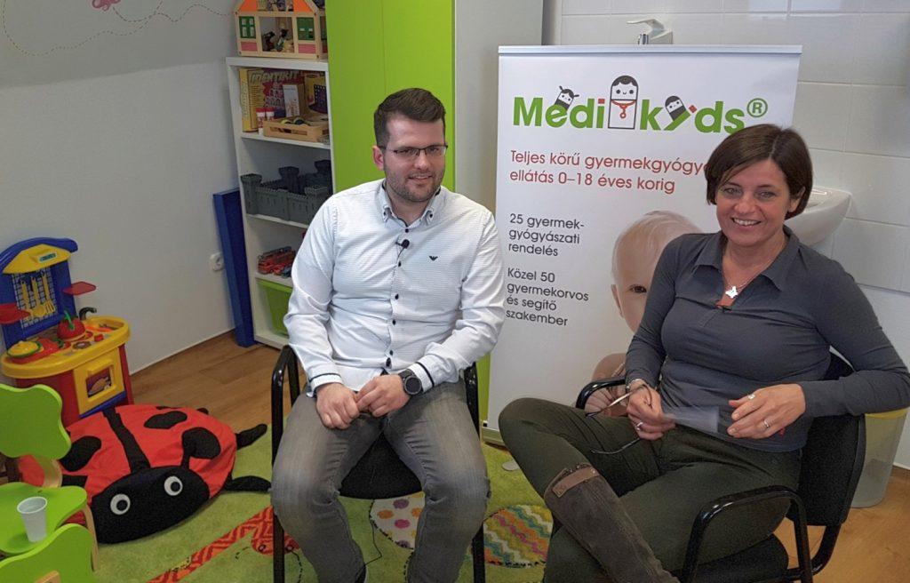 Dr. Novák Hunor és dr. Kulcsár Andrea a védőoltásokról