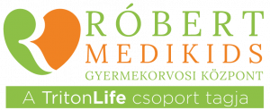 Róbert Medikids Gyermekorvosi Központ logó